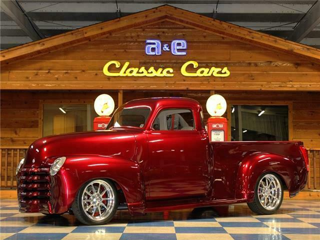 1949 Chevrolet Other Pickups Custom Resto Mod Fuel Injected 5 Window Pickup