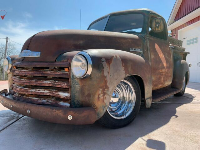 1949 Chevrolet Other Pickups 3100 Short Bed Bad Ass Patina Shop Truck Rat Rod