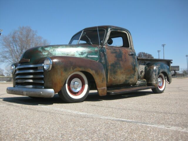1949 Chevy 3100 Pickup 1  2 Ton Ratrod Rat Rod S10 Swap 350