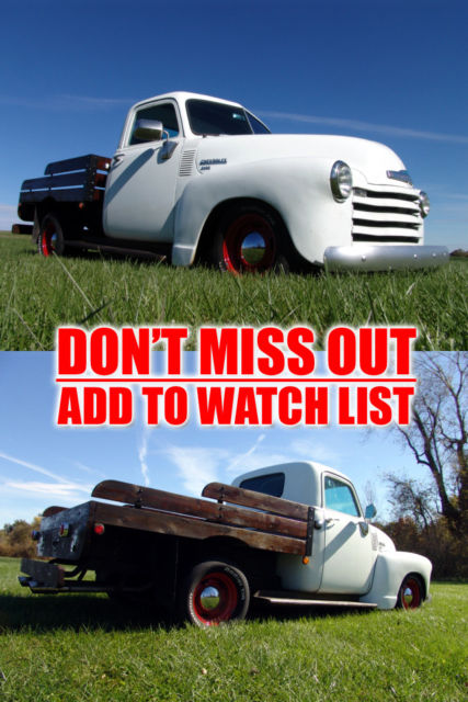 1949 Chevrolet Other Pickups 3100 60+ Photos
