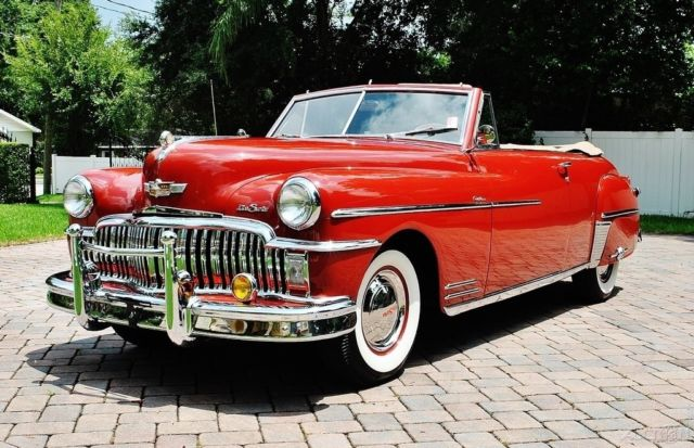 1949 DeSoto Custom Convertible Fully Restored Absolutely Stunning