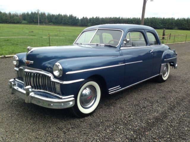 1949 DeSoto 1949 Custom Coupe Solid driver quality car