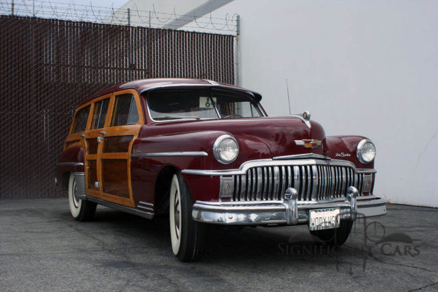 1949 DeSoto Woody Wagon