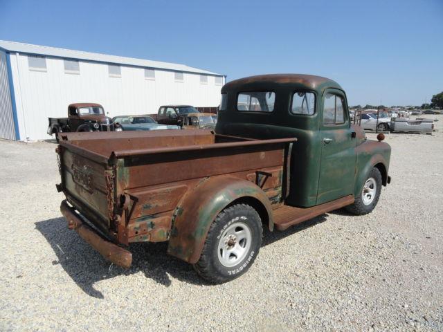 1949 dodge 1 2 ton short bed pickup truck project rat rod beater 1948 1950 for sale photos. Black Bedroom Furniture Sets. Home Design Ideas