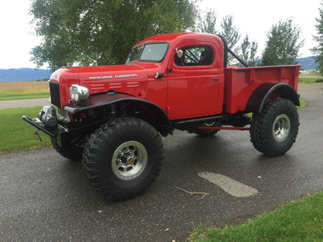 1949 Dodge Power Wagon Legacy Classic Trucks Rock Crawler conversion
