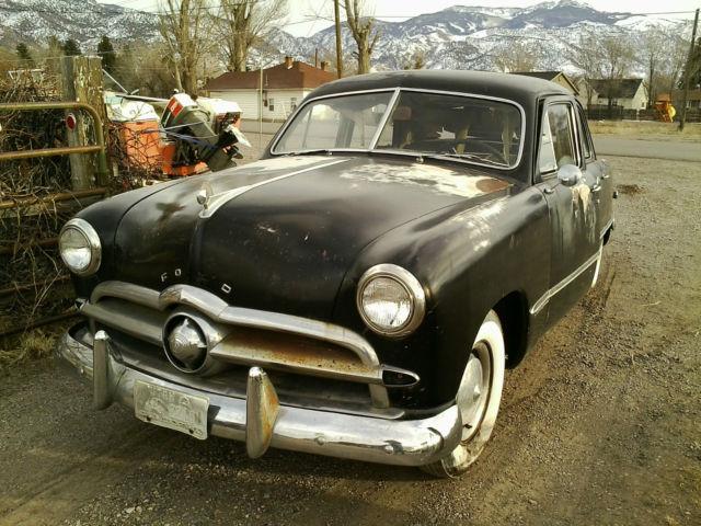 1949 Ford Custon 4 dr sedan rebuilt flathead engine for sale