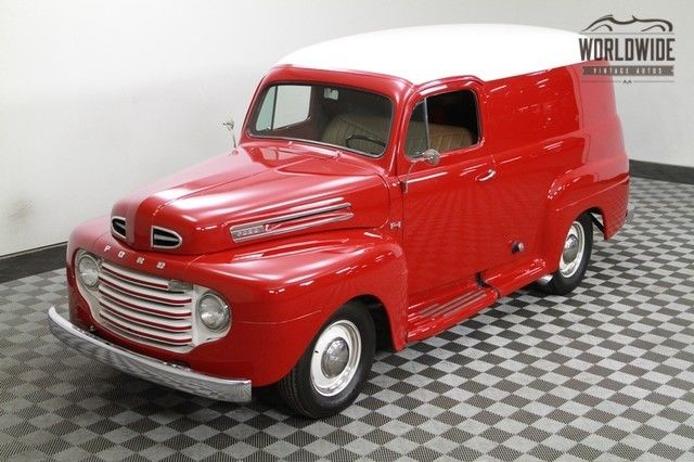 1949 Ford Panel Truck Very Rare! Fully Restored! 289 V8! Disc Brakes!