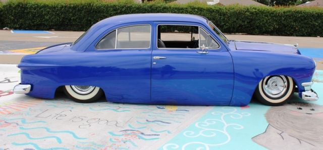 1949 Ford Shoebox Tudor Sedan Coupe Restored