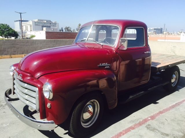 1949 Gmc Pickup Truck 3 4 Ton Flatbed For Sale Photos