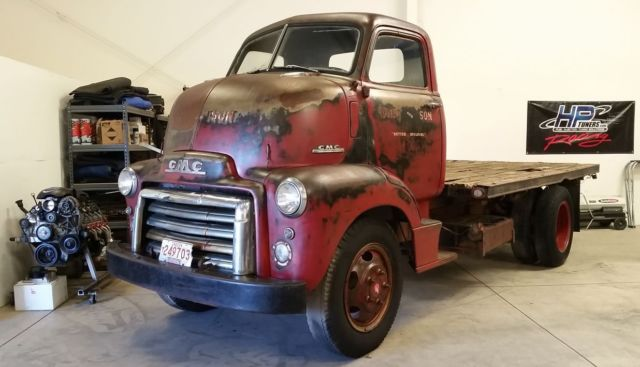 1949 gmc chevy cab over engine coe truck for sale for Gmc motors for sale