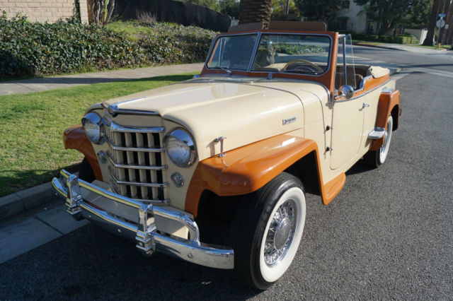 1949 Willys -OVERLAND JEEPSTER CONVERTIBLE - 1 OF 2,960 BUILT IN '49!