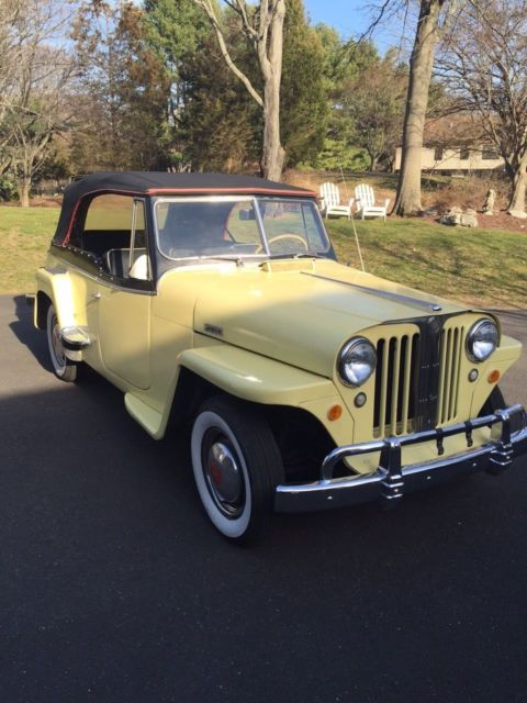 1949 Willys jeepster overland