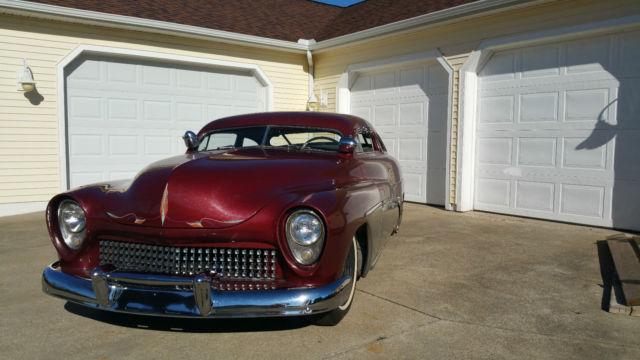 1949 mercury rare custom chopped top lead sled survivor barn find classic car for sale photos. Black Bedroom Furniture Sets. Home Design Ideas