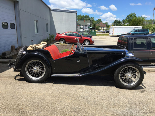 1949 MG T-Series Base