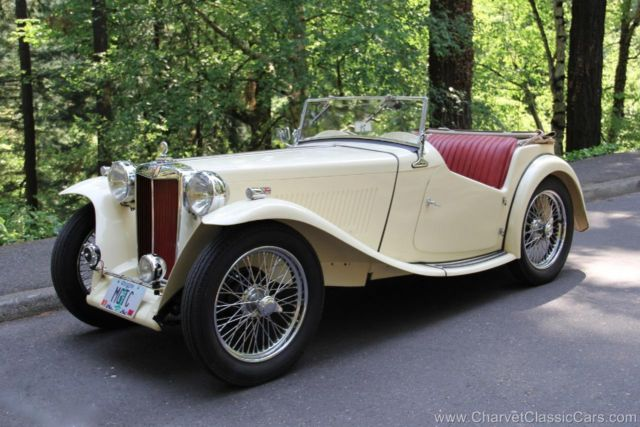 1949 MG T-Series TC Roadster. Restored. Show or go! See VIDEO
