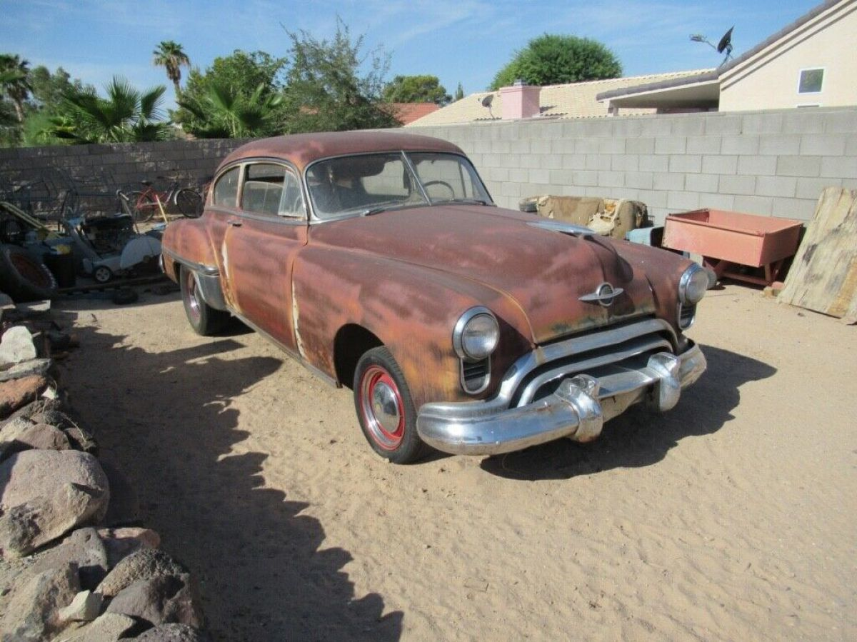 1949 Oldsmobile 2 DOOR FASTBACK STOCK