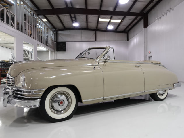 1949 Packard Super Eight Victoria Convertible