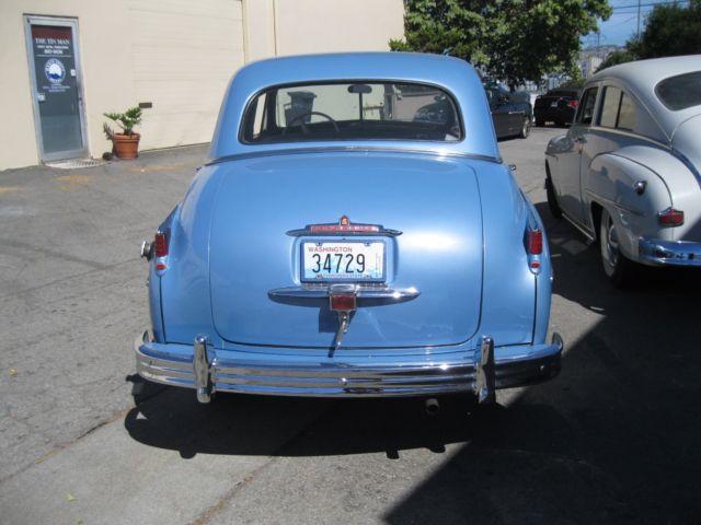 1949 plymouth blue special deluxe 4 door sedan for sale for 1949 plymouth 2 door sedan