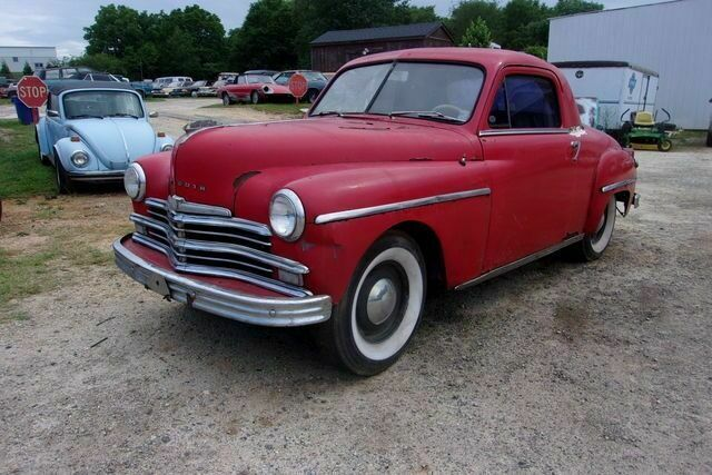 1949 Plymouth Business Coupe Coupe