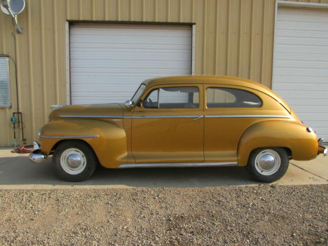 1949 Plymouth Deluxe 1st Series 2 Door Sedan