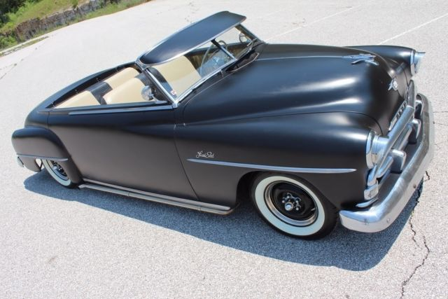 1949 Plymouth Lead Sled Convertible Rat Rod Custom