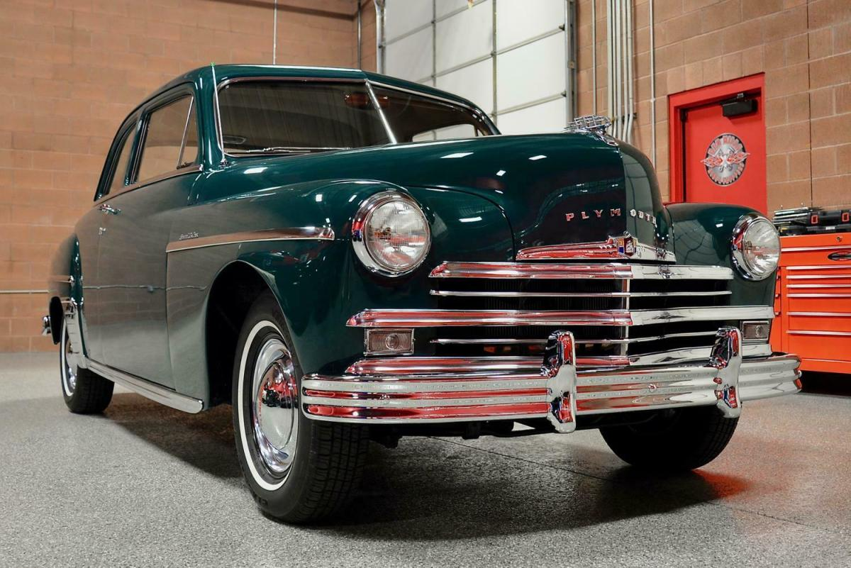 1949 Plymouth Special Deluxe Club Coupe