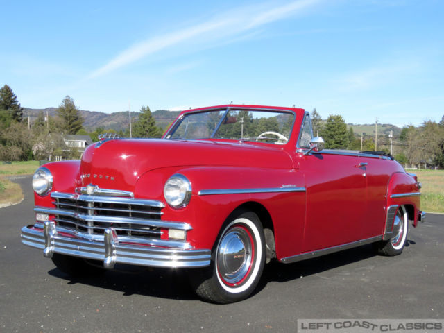 1949 plymouth special deluxe convertible for sale photos. Black Bedroom Furniture Sets. Home Design Ideas