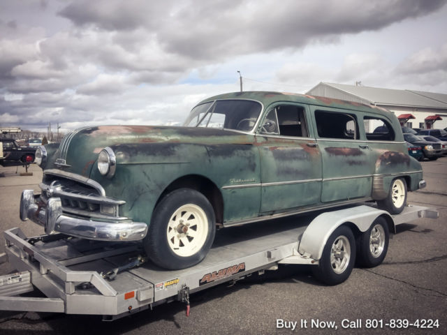 1949 pontiac national limo all original barn find for Autobahn body and paint