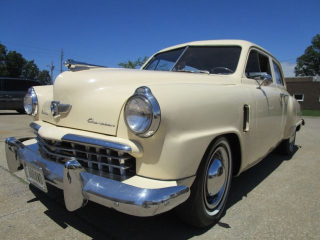 1949 Studebaker Champion NO RESERVE AUCTION - LAST HIGHEST BIDDER WINS CAR!