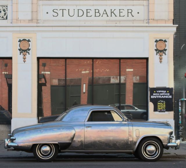 1949 Studebaker Champion DAed clear coated