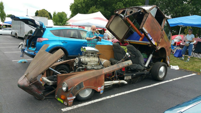 Used Cars In Delaware >> 1949 Triumph Mayflower RATROD Blown BBC Funny Car ProStreet for sale: photos, technical ...