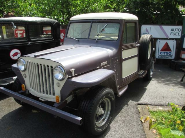 1949 Willys Overland Jeep Pickup
