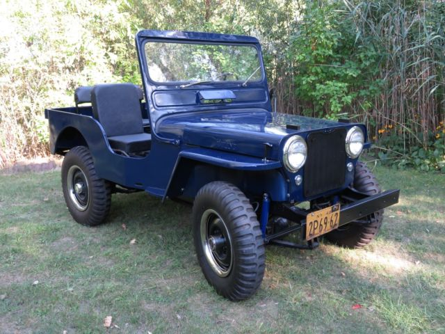 1949 Willys CJ3A Jeep