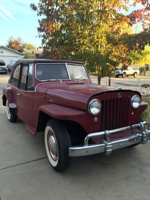 1949 Willys Jeepster Phantom (Convertible)