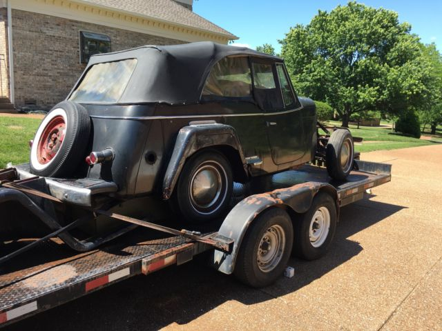 1949 Willys Jeepster 2 DR Jeepster PHAETON