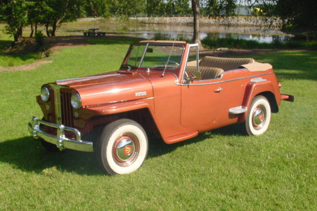 1949 Willys Jeepster VJ-3