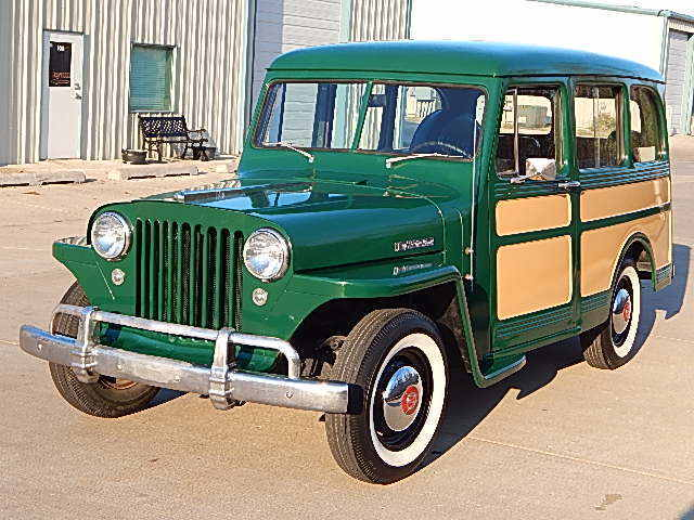 1949 Willys Overland Station Wagon No Reserve For Sale