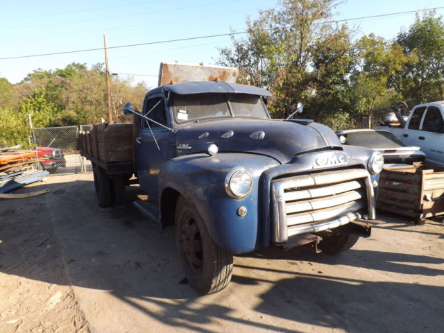 1950 1 1 2 ton gmc 350 truck runs for sale photos technical specifications description. Black Bedroom Furniture Sets. Home Design Ideas