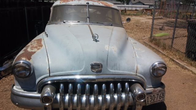 1950 Buick DYNA FLOW SUPER 8 Jetback Sedan