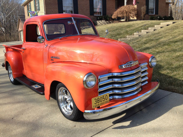 1950 Chevrolet Other Pickups step-side pickup
