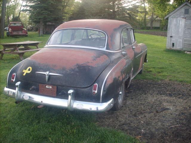 1950 Chevrolet 4 Door Deluxe Project Runs Patina Hot
