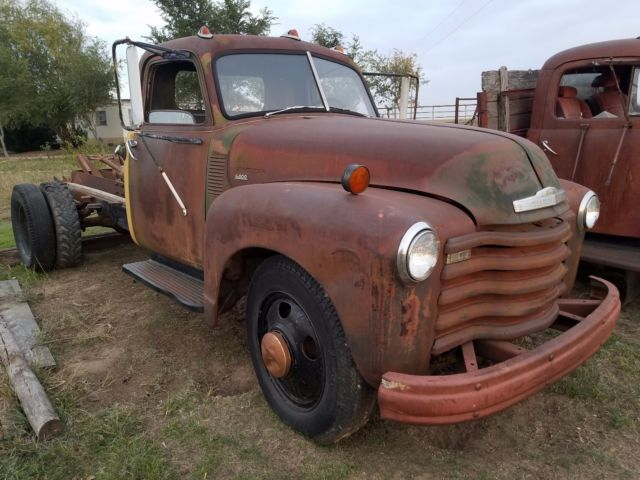 1950 Chevrolet Other Pickups PATINA SHOP WORK FARM DUMP TRUCK PROJECT CHEVY
