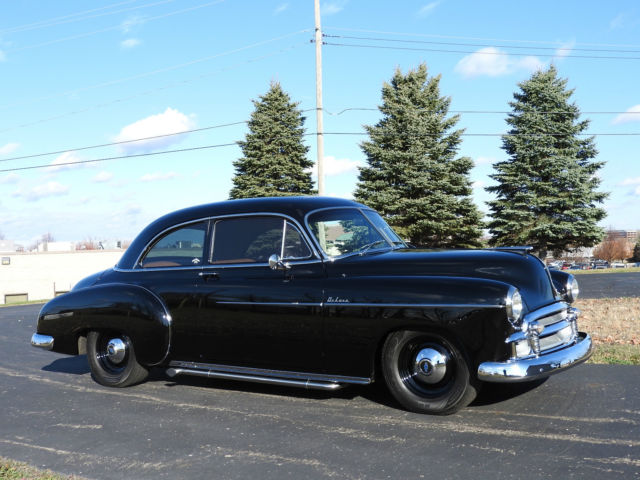 1950 chevrolet deluxe styleline 2 door custom resto mod for 1950 chevy styleline deluxe 4 door sedan