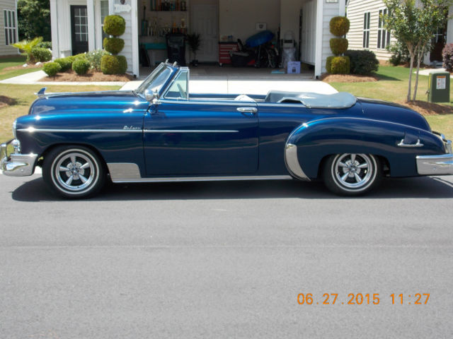1950 Chevrolet Deluxe Styleline Convertible For Sale
