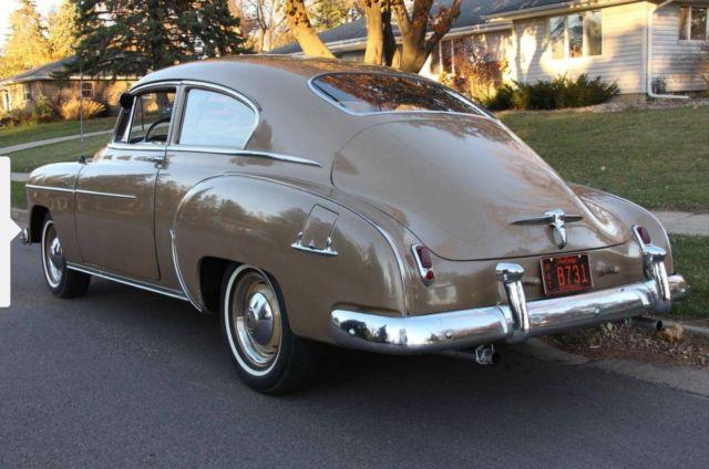 1950 chevrolet fleetline deluxe 2 door original fastback for 1950 chevrolet 2 door
