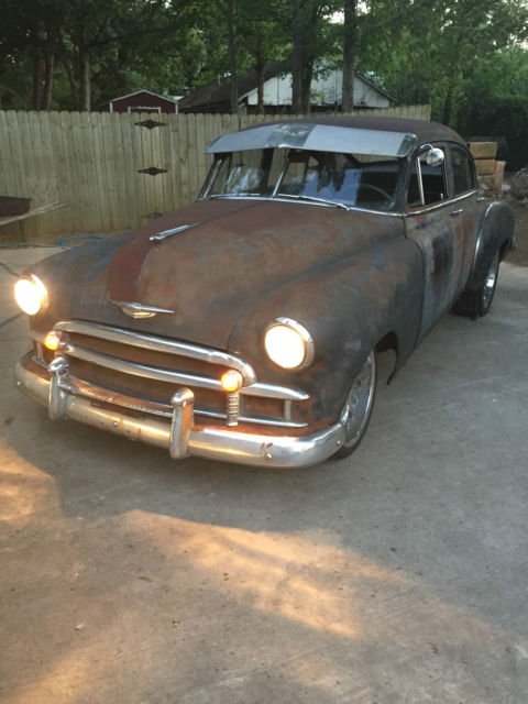 1950 chevrolet fleetline fastback rat rod chevy 5 3 ls swap for sale photos technical. Black Bedroom Furniture Sets. Home Design Ideas