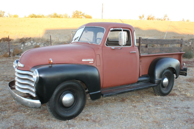 1950 Chevrolet Other Pickups 3100, Half Ton, Short Bed, Daily Driver