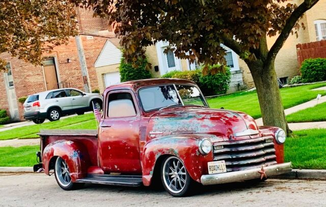 1950 Patina Chevrolet Other Pickups 3100 5 Window Patina Fuel Injected Pro touring Pick Up with Brown interior