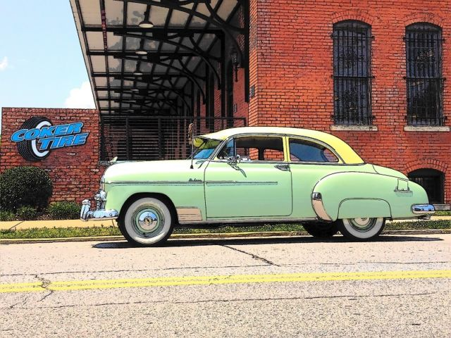 1950 Chevrolet 1950 Chevy Styleline Deluxe 2-Door Sedan (Frame-Off Restoration)
