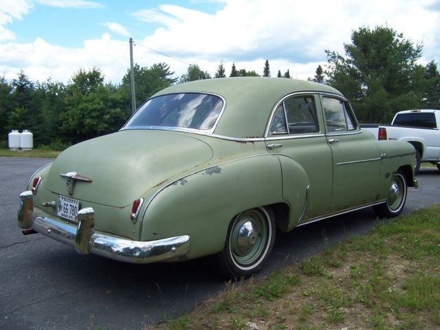1950 Chevrolet Styleline Deluxe Sedan 4 Door For Sale